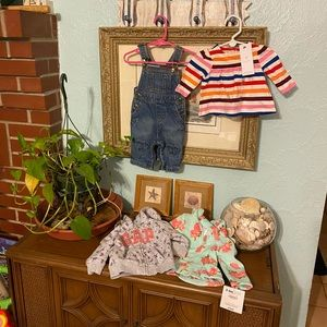 Tommy Hilfiger baby gap 3-6 mo baby girl lot NWT